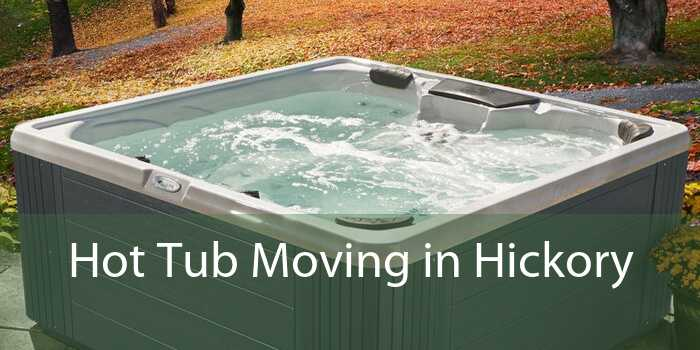 Hot Tub Moving in Hickory
