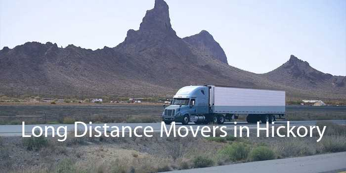 Long Distance Movers in Hickory