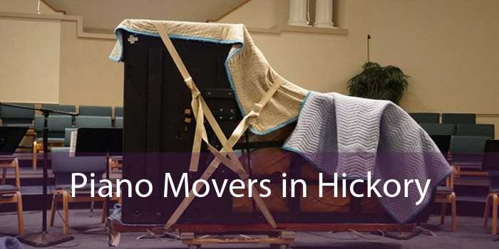Piano Movers in Hickory